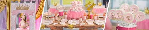 pink and gold party supplies pink gold princess birthday party supplies shindigz