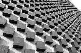 architecture high resolution photography black and white squares