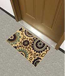 amazon com rubber backed mat 18