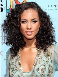 the thin hair african american long curly hairstyles side parted for thin hair african american