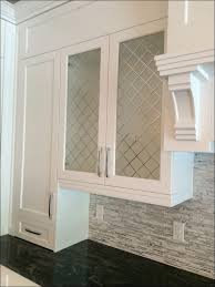 kitchen wall display cabinet with glass doors corner glass