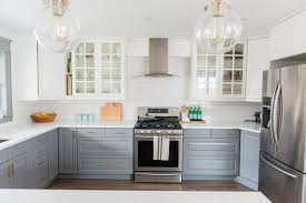 ikea bodbyn gray kitchen cabinets a gray and white ikea kitchen transformation the sweetest digs