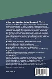 Advertising Research Paper Advances In Advertising Research Vol 1 Cutting Edge