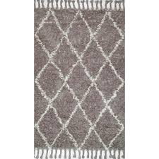 nuloom fallon grey 4 ft x 6 ft area rug gyfl01a 406 the home depot