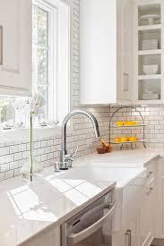 farmhouse sink with backsplash farmhouse sink with misty carrara caesarstone quartz countertop and