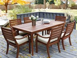 Round Patio Furniture Set by Patio 15 Clearance Patio Furniture Sets With Wooden Floor