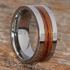 wood rings wedding neptune flat inlaid wooden rings ravishing stunning forever
