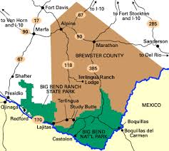 where is terlingua on a map members