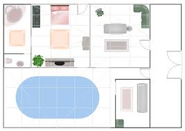 Program To Draw Floor Plans How To Draw A Floor Plan For Spa In Conceptdraw Pro Gym And Spa