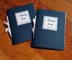 wedding booklets scrapping innovations and s wedding program booklets