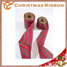 taiwan scottish checked plaid ribbon gift with bow wedding cake