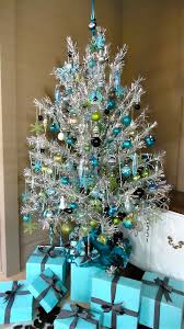 silver tinsel christmas tree a inspired palette christmas tree ornaments