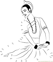 dancer connect the dots printable worksheets