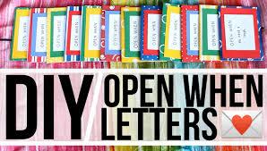 diy open when letters youtube