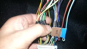 holden vt vx radio wire colours youtube