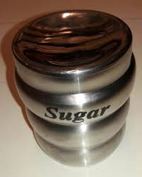 tea coffee stainless steel canister tea sugar jars for kitchen