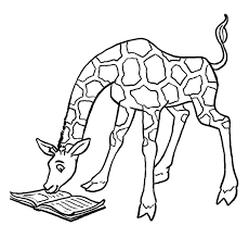 cute giraffe coloring pages getcoloringpages com