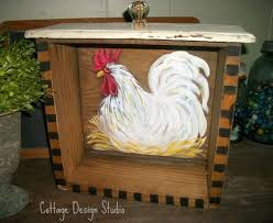 63 best hand painted roosters images on pinterest rooster decor