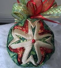 487 best quilted ornaments images on balls