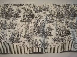 Toile Cafe Curtains Stunning Toile Kitchen Curtains Decor With Curtain Toile Window