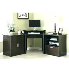 Cheap Black Corner Desk Corner Computer Desk With File Cabinet Awesome L Shaped Modern