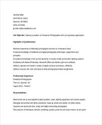 sample freelance resume template 8 free documents download in