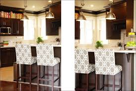 kitchen island chairs with backs dining room gas lift bar stools black metal bar stools kitchen