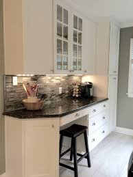 kitchen with glass backsplash my beautiful kitchen renovation with allen roth shimmering lights