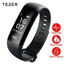 heart health bracelet images Tezer r5max blood pressure heart rate monitor blood oxygen 50 jpg