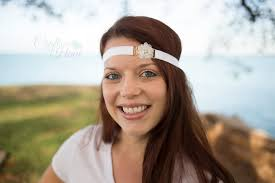 mint green headband flower headband rhinestone headband mint green headband baby