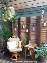 apartment patio bamboo fence staradeal com