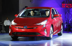 latest toyota toyota u0027s new prius gets a more electric look wsj