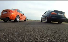 lexus v8 in bmw e46 video find drag race between 2011 bmw 1m and e46 bmw m3