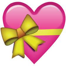 heart ribbon pink heart with ribbon emoji icon emoji island