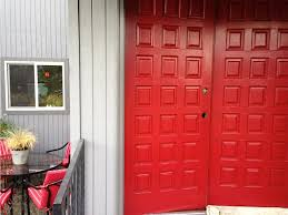 valspar heirloom red chalk paint and natural stains pinterest