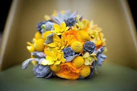 billy balls wedding bouquet with billy balls or craspedia grower direct