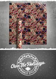 harley davidson wrapping paper biker santa gift wrap santa gifts bikers and harley davidson