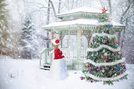 snowy christmas pictures free images snow winter white weather snowy gazebo christmas