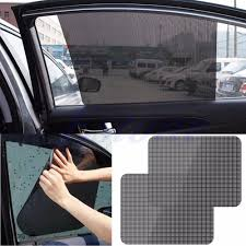 aliexpress com buy 2pcs car rear window side sun shade cover