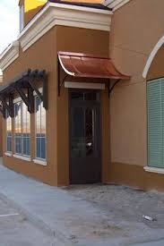 Front Porch Awnings The Eyebrow Gallery Copper Awnings Projects Gallery Of Metal