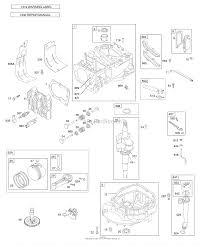 briggs and stratton 126t02 0131 b1 parts diagram for camshaft