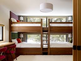 Two Bunk Beds Bunk Beds In Contemporary With Room With Two Beds