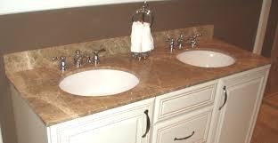 Bathroom Bathroom Vanity Granite Top On Bathroom Throughout - Bathroom vanity counter top 2