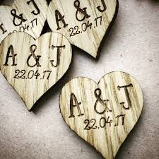 initial wedding hearts wedding favour tags table decor 08td