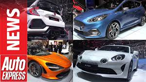 the best cars of 2017 best cars of the 2017 geneva motor show youtube