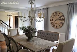 Rolling Dining Room Chairs Dear Lillie Our Updated Dining Room With A New Farmhouse Table