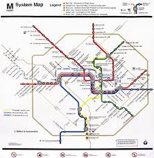 Washington Dc Metro Map Pdf by Wmta Map My Blog