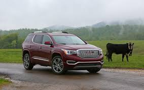 subaru outback 2018 vs 2017 comparison gmc acadia denali 2017 vs subaru outback 2017