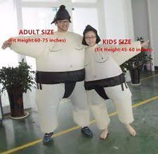 Sumo Halloween Costume Kids Inflatable Costume Ebay
