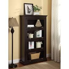 Espresso Corner Bookcase Espresso Corner Shelf